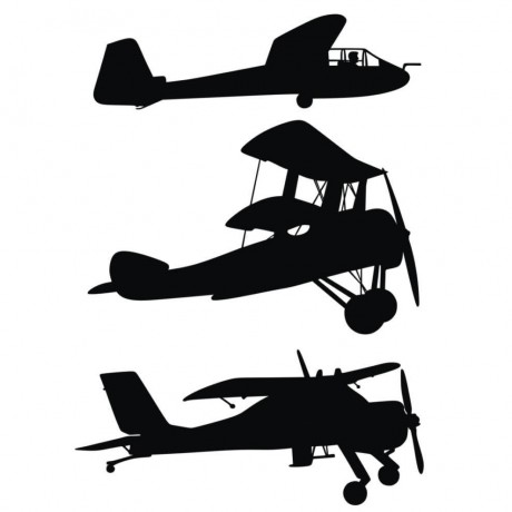 Airplane_silhouettes