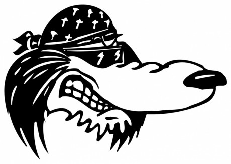 BIKER-DOG-5084-SELF-ADHESIVE-VINYL-STICKER-DECAL