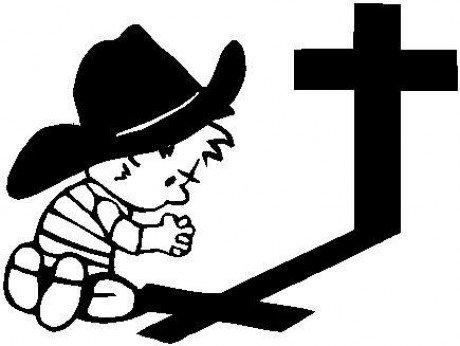 cowboy-calvin-praying-with-cross-vinyl-decal-sticker-d9cb5