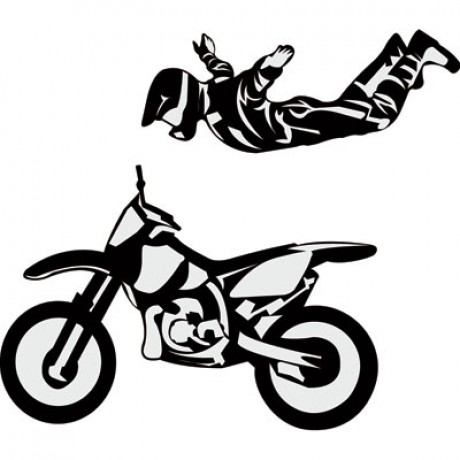 attackgraphicsriderdecalsnohands375-x43-black-dirt-bike-rider-accessories-stickers-decals
