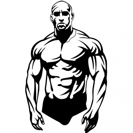bodybuilder_vector_image