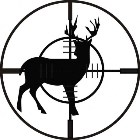deer hunt black